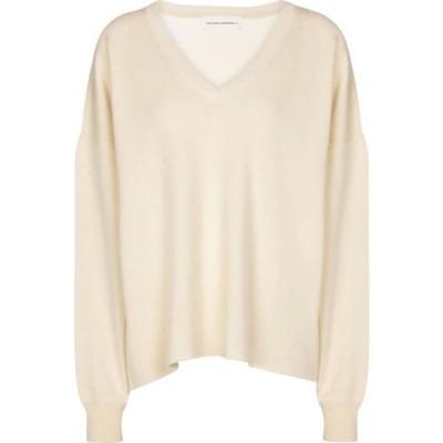 エクストリーム カシミア Extreme Cashmere レディース ニット・セーター トップス N 161 Clac cashmere-bleN sweater Cream