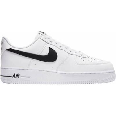 ナイキ メンズ スニーカー シューズ Nike Men's Air Force 1 '07 Shoes White/ Black