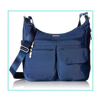 【新品】Baggallini unisex-adult Everywhere Travel Crossbody Bag, Pacific,One Size(並行輸入品)
