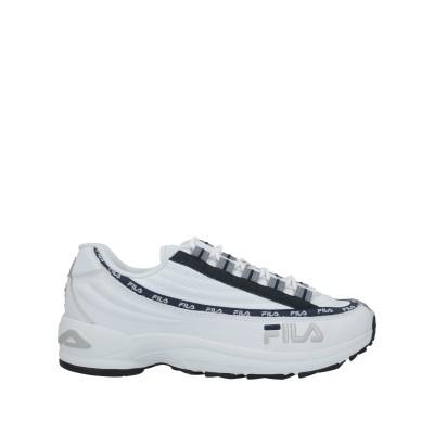 FILA スニーカー&テニスシューズ(ローカット) ホワイト 41 革 スニーカー&テニスシューズ(ローカット)