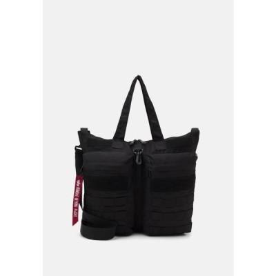 アルファインダストリーズ メンズ ショッピングバッグ TACTICAL HELMET BAG UNISEX - Tote bag - black