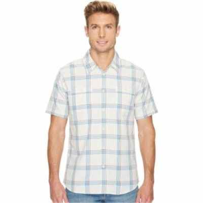 クイックシルバー 半袖シャツ Island Job Update Short Sleeve Woven Shirt Bone