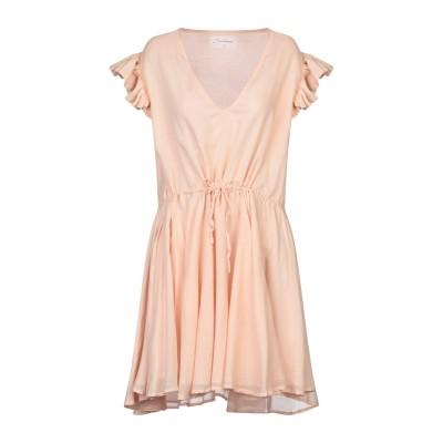 SUNDRESS ミニワンピース&ドレス ローズピンク M/L コットン 100% ミニワンピース&ドレス