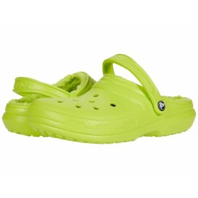 クロックス サンダル シューズ メンズ Classic Lined Clog Lime Punch/Lime Punch