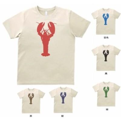 デザインTシャツ ザリガニ   サンド
