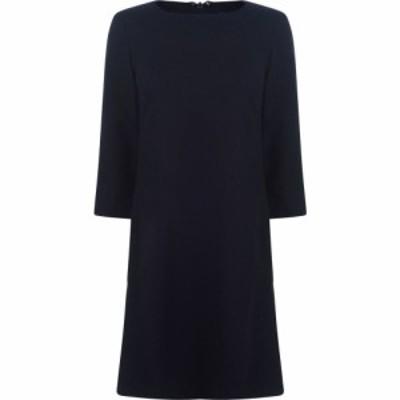 ガント Gant レディース ワンピース ワンピース・ドレス Wool Check Dress Marine