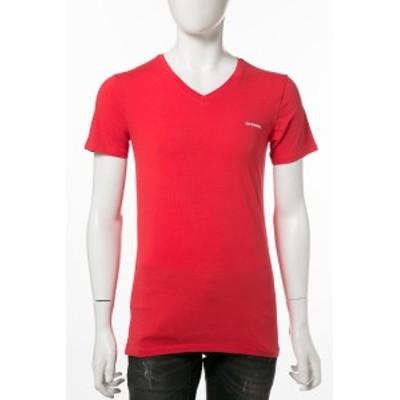 ディーゼル DIESEL Tシャツアンダーウェア レッド メンズ (00S2SM 0GAFN)