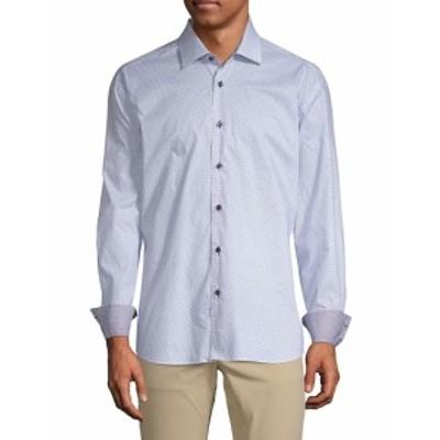 ベルティゴ メンズ カジュアル ボタンダウンシャツ Bicycle Cotton Button-Down Shirt
