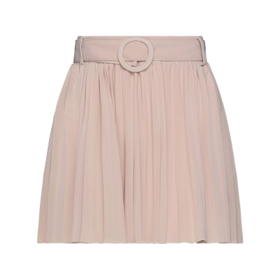 VICOLO ミニスカート ベージュ one size ポリエステル 100% ミニスカート