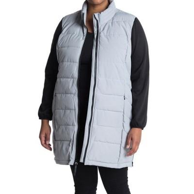マークニューヨーク レディース ジャケット&ブルゾン アウター Standing Collar Long Puffer Coat MIST