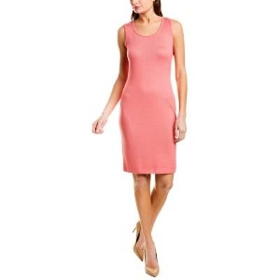 セントジョン レディース ワンピース トップス St. John Wool-Blend Sheath Dress -