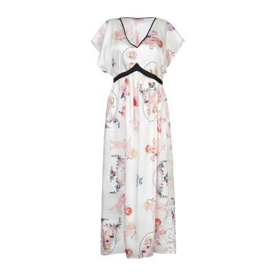 ROSE' A POIS ロングワンピース&ドレス アイボリー 42 ポリエステル 100% ロングワンピース&ドレス