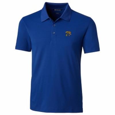 """メンズ ポロシャツ """"Kentucky Wildcats"""" Cutter - Buck Forge Tailored Fit Polo - Royal"""