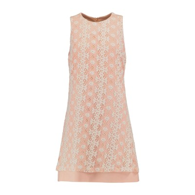 IRIS & INK ミニワンピース&ドレス ピンク 6 コットン 62% / ポリエステル 38% ミニワンピース&ドレス