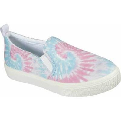スケッチャーズ レディース スニーカー シューズ Poppy Hippie Hype Slip On Sneaker Pink/Multi