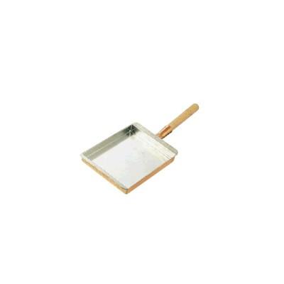 たまご焼器 銅 玉子焼 関西型 10.5cm(150×105×30mm) (7-0514-0301)
