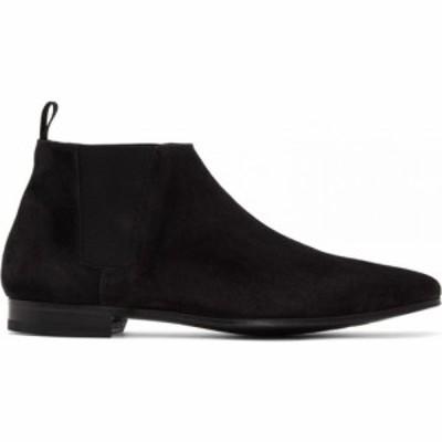 ポールスミス Paul Smith メンズ ブーツ チェルシーブーツ シューズ・靴 black suede marlowe chelsea boots Black