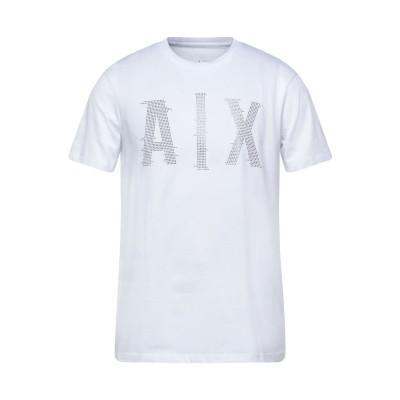 ARMANI EXCHANGE T シャツ ホワイト XS コットン 100% T シャツ