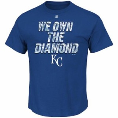 Majestic マジェスティック スポーツ用品  Majestic Kansas City Royals Royal We Own the Diamond T-Shirt