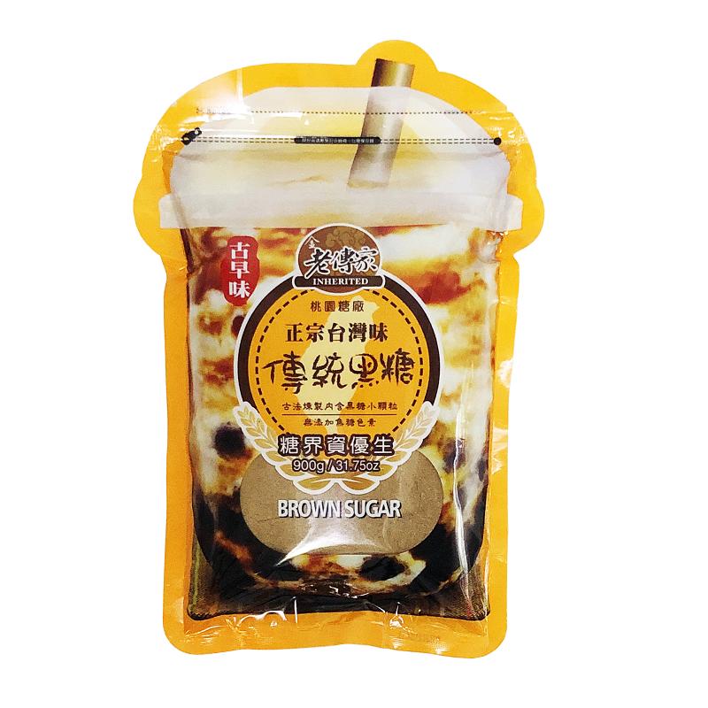 正宗台灣味傳統黑糖
