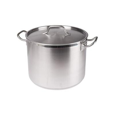Winco sst-20、20-quart 10.25インチ高11.9-inch直径ステンレススチールストック、Pot withカバー、tri-ply heavy-duty下部の効