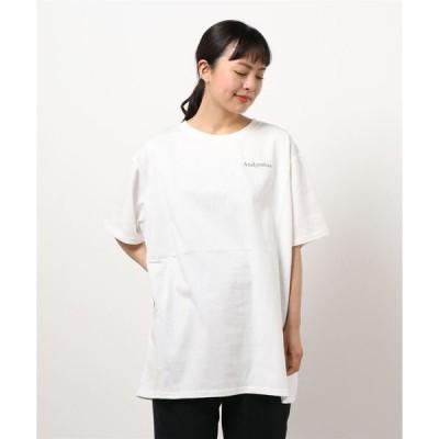 tシャツ Tシャツ 【UNISEX】リリーエンブロイダリーTシャツ