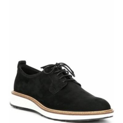 エコー メンズ ドレスシューズ シューズ Men's St.1 Hybrid Plain Toe 2.0 Oxfords Black