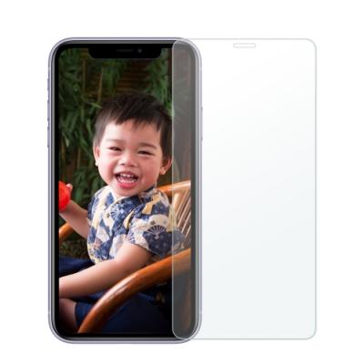 2入【AdpE】iPhone 11/XR 6.1吋 2.5D 9H 全透滿版鋼化玻璃保護貼