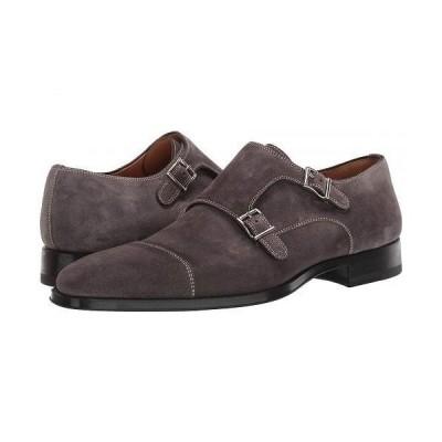 Magnanni マグナーニ メンズ 男性用 シューズ 靴 オックスフォード 紳士靴 通勤靴 Cotillas II - Grey Suede