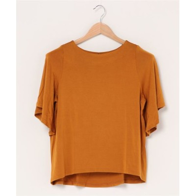 tシャツ Tシャツ Clear jersey top