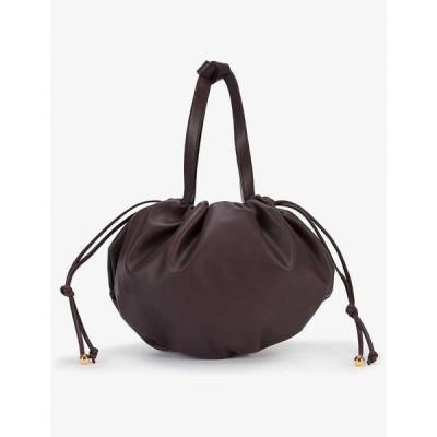 ボッテガ ヴェネタ BOTTEGA VENETA レディース ショルダーバッグ バッグ The Medium Bulb leather shoulder bag Grape Gold