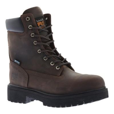 """ティンバーランド スニーカー シューズ メンズ Direct Attach 8"""" Soft Toe Work Boot (Men's) Brown Oiled Full Grain Leather"""
