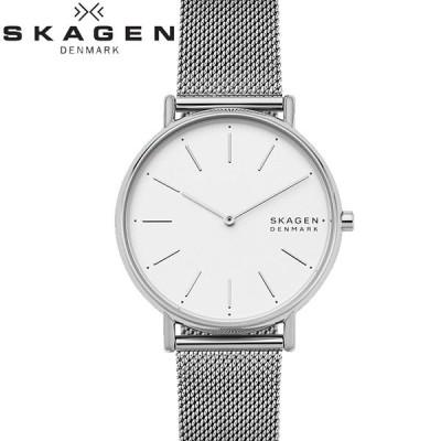 時計 スカーゲン SKAGEN SKW2785 シグネチャー 腕時計 レディース シルバー メッシュ