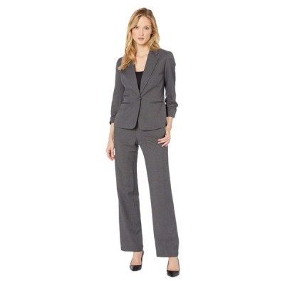 ル スーツ Le Suit レディース スーツ・ジャケット アウター Jacket/Pants Suit Set Steel