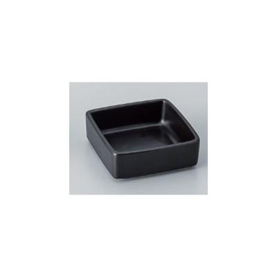 和食器 / 小付 黒マット3.0角形丼 寸法:8.5 x 8.5 x 3cm