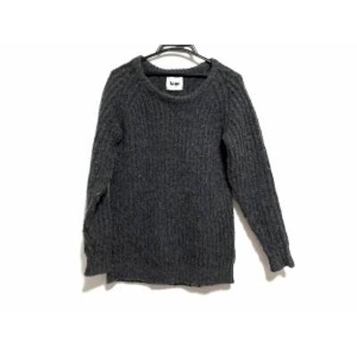 アクネ Acne 長袖セーター サイズS レディース 美品 - ダークグレー【中古】20210202