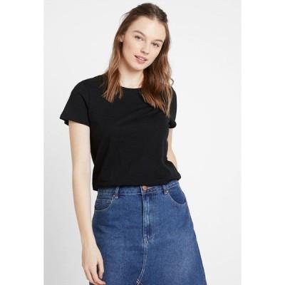 コットンオン Tシャツ レディース トップス THE CREW - Print T-shirt - black