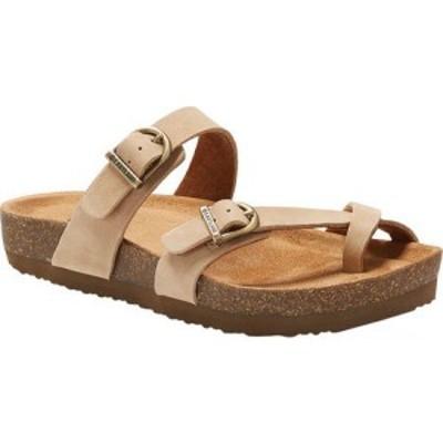 イーストランド Eastland レディース サンダル・ミュール シューズ・靴 Tiogo Toe Loop Sandal Sandstone Nubuck