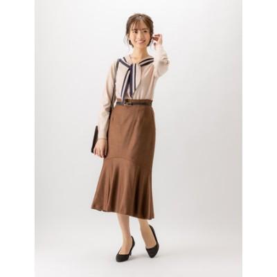 ELANツィード綾マーメイドスカート