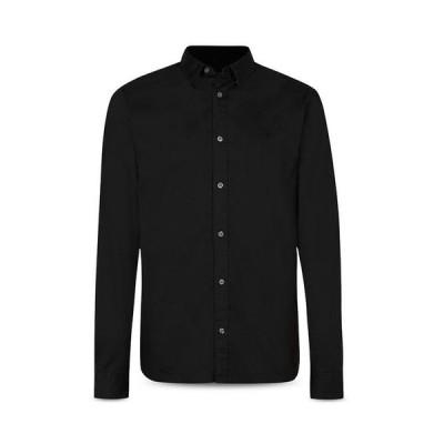 オールセインツ メンズ シャツ トップス Hawthorne Cotton Solid Regular Fit Button Down Shirt