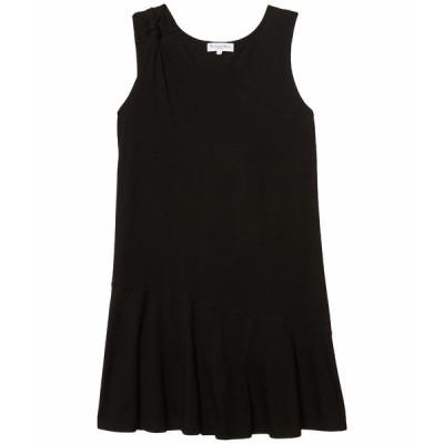 マイケルスターズ ワンピース トップス レディース Kirsty Cotton Modal Tank Dress w/ Twisted Strap Black