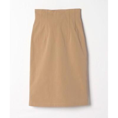 ANAYI/アナイ 2WAYストレッチタイトスカート キャメル3 36