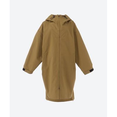 <08sircus(Women)/ゼロエイトサーカス> Hight count weather hoodie coat 21-camel b【三越伊勢丹/公式】