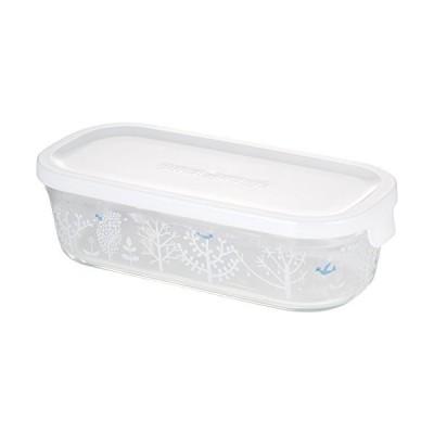 iwaki(イワキ) 耐熱ガラス 保存容器 シンジカトウ Petit bois 角型 M 500ml パック&レンジ B3246-SNC1