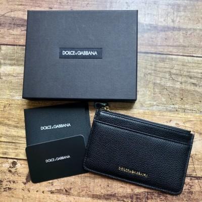 新品 D&G ドルガバ カードケース ミニ財布 コインケース