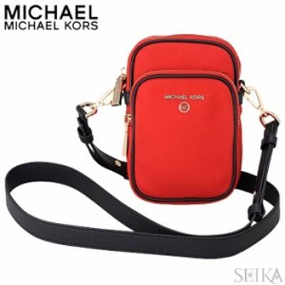 マイケルコース MICHAEL KORS(1079)32H9GT9C5C 899 BRT RED MLTIナイロン カメラバッグ ショルダーバッグ JET SET CHARM ブライトレッド