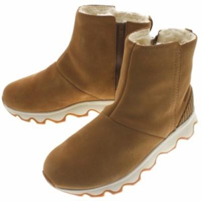 ソレル SOREL ブーツ キネティック ショート KINETIC SHORT キャメル ブラウン/ナチュラル CAMEL BROWN/NATURAL NL3128 224
