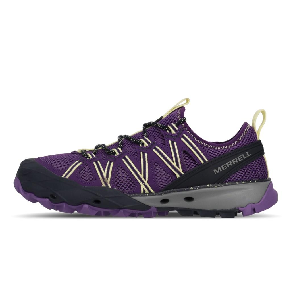 Merrell 戶外鞋 Choprock 紫 黃 女鞋 水陸鞋 ML033454 【ACS】