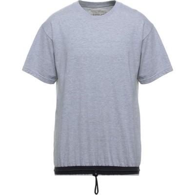 コラレート CORELATE メンズ Tシャツ トップス T-Shirt Grey