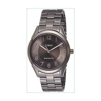 Timex Men's Briarwood TW2T46000 Grey Stainless-Steel Japanese Quartz Dress Watch並行輸入品